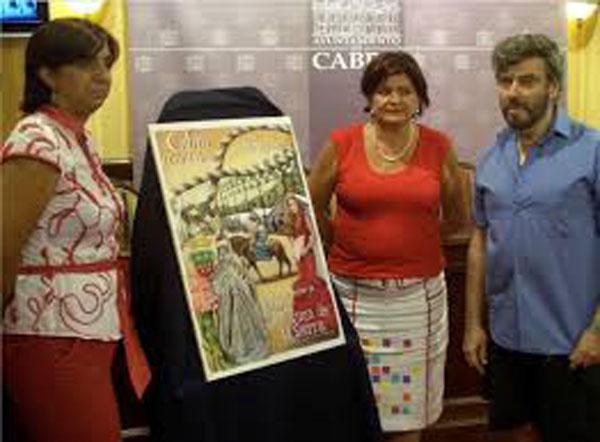 presentacion del cartel ganador de la feria de cabra 2009