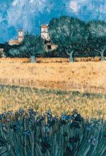 Pintura de campo pintada a oleo