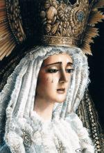 Pintura al oleo de la Virgen
