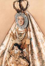 Pintura de la Virgen de la Sierra